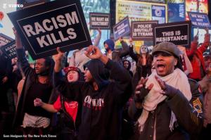 nyc protests ferguson